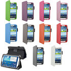 PU LEATHER CASE COVER FOR SAMSUNG GALAXY TAB 3 8 WITH STAND + CHOOSE ACCESSORIES