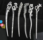 wholesale 6pcs/5pcs Fashion zinc alloy mix style hair pin