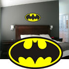 Batman Logo Wall Art Sticker Decal Graphic Mural Boys Bedroom Toolbox Helmet