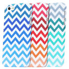 Hybrid Chevron Print Rubber Matte Hard Tuff Case Cover For Apple iPhone 5S 5G 5
