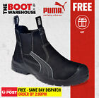 Puma Work Boots 630347 'Tanami', Composite Toe Safety, Elastic Sided, Metal Free