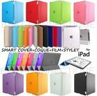 HOUSSE COQUE ETUI SMART COVER MAGNETIQUE IPAD 2 3 4 5 AIR IPAD MINI RETINA +FILM