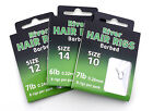 Barbed River Hair Rigs x 80 Available in sizes 6,8,10,12 or 14 Barbel/chub