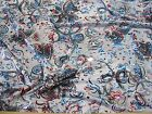 Discount Fabric Fancy Lycra /Spandex Gray Holographic Floral Abstract 106FL