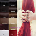 Clip in Hair Extensions 3/4 Full Head One Piece 5clips straight curly Cosplay