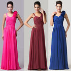VINTAGE Wedding Guest Long Formal Prom Bridesmaid Party Evening Gown Dresses UK