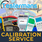 Fluke PAT Tester Calibration Service - Includes various Service Level Options