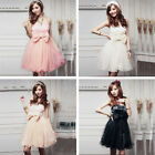Sweet Women Lace Bridesmaid Wedding Party Ball Prom Evening MINI Short Dress