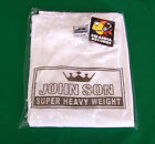WHITE JohnSon Heavy Weight Cotton M-5XL Long Sleeve Crew Neck Shirt Piranha