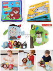 Kid Early Reading Word Animal Stuffed Cloth Book Educational Soft Plush Doll Toy