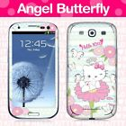 Hello Kitty Mobile Cell Phone Body Skins Decals Licensed 2012 - Angel Butterfly