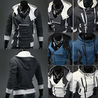 New Stylish Men's Casual Slim Fit Hoodies Hooded Jackets Sporting Coat 4 Size