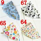 Babys Children bandage Bibs Multipurpose Cartoon Turban Cotton Color Choice