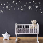 Pack of 60 Star Wall Stickers - Silver, Gold and other colour choices