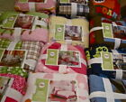 Circo Quilt Set Twin:RoarStomp Car Patches Plaid Safari Birdhouse Robot Ladybug