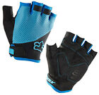 Fox Reflex Blue Gel Short Finger Cycling Gloves 2014 All Sizes 09315