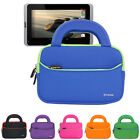 """Neoprene Portfolio Sleeve Handle Carrying Case For Acer ICONIA B1-720 7"""" Tablet"""