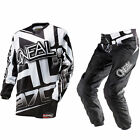 Oneal MX Element Racewear Orange/Black Motocross Jersey & Pants Gearset