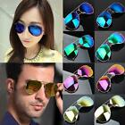 Unisex Women Men Vintage Retro Fashion Aviator Mirror Lens Sunglasses Glasses