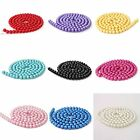 100 Mix Colors Glass Faux Pearl Round Spacer Loose Beads Fit Necklace 8mm Bluk