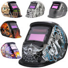 Auto Darkening Solar Powered Mig Welders Welding Helmet Mask + Grinding Function