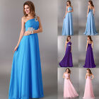 Maxi Bridesmaids Formal Prom Wedding Long Ball Bridal Gown Cocktail Party Dress