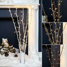 50 LED WARM WHITE FAIRY TWIG BRANCH VASE LIGHT DECORATIVE HOME WEDDING CHRISTMAS