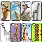 Cute Giraffe For iPhone 4 4S 5 5S 5C New Back Protective Hard Plastic Cover Case