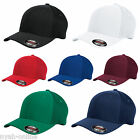 NEW PLAIN FLEXFIT MESH CAP FITTED CLASSIC BASEBALL FLEXIFIT TRUCKER PEAK HAT