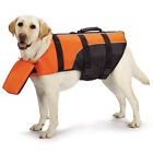 Dog Deluxe Pillow Pet Preserver Life Jacket Safety Vest Water Guardian Gear