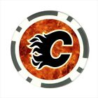 Calgary Flames Hockey - Poker Chip Guard / Golf Ball Marker - FG5111