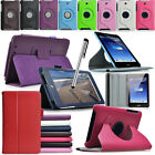 Stylish Leather Stand Case Cover for ASUS MeMO Pad HD 7 ME173X ME173 Free Stylus