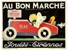 Early 20th Century French Bon Marche  Advertisement Poster 2 A3/A2 Print