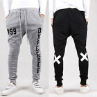 Man Men Casual Baggy Harem Taper Pants Dance Sport Trousers Slacks Sweatpant