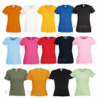 (F280) FRUIT OF THE LOOM DAMEN T-SHIRT Lady-Fit Crew Neck Rundhals-XS S M L XL X