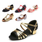 Brand New Women Children Girl's Ballroom Latin Tango Dance Shoes heeled Salsa 5