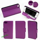 Luxury Leather Card Holder Flip Wallet Case Cover Pouch For Apple iPhone 5 5S 5C