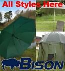 BISON TOP TILT UMBRELLA BROLLY FISHING SHELTER ALL STYLES HERE.