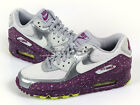 Nike Wmns Air Max 90 Wolf Grey/Light Base Grey-Bright Grape Running 325213-030