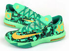 Nike KD 6 VI Easter Camo Light Lucid Green/Atomic Mango Kevin Durant 599424-303