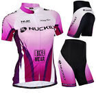Women Bicycle Uniforms Jersey Bike Clothing Padded Short Cycling Wear Breathable