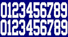 Full Size OR Replica Mini Size Football Helmet Number Decals for New York Giants $12.99 USD on eBay