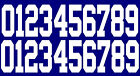 Full Size OR Replica Mini Size Football Helmet Number Decals for New York Giants $11.69 USD on eBay