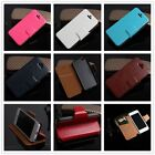 PU Leather Card Slots Wallet Stand Case Cover for iPhone 4S 5S/Samsung S4/Note 3