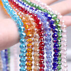 4mm x 100 High Quality Bicone Crystal Beads - 30 Different Colours Available!