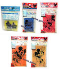 Disney Mickey Mouse Make up Accessories Plastic Zip Bags Cases Organizer