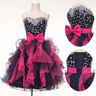 New Women/Girl Formal Prom Tutu Gown Cocktail Short Princess Party Evening Dress