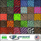 Paracord 550 Mil Spec Type III 7 Strand Parachute Cord 10ft, 25ft, 50ft, 100ft