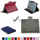 Colorful Folio Claw Grip Case+Pen For 10.1 HANNSPREE SN1AT71W Andriod Tablet PC