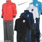 Nike Boy's Full Zip Tracksuit Joggers New 5 Colours All Sizes 6 to 15 Years Old